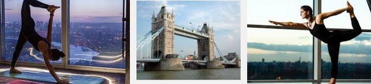 London Lifestyle: Yoga in the Sky on Tower Bridge Glassfloor!