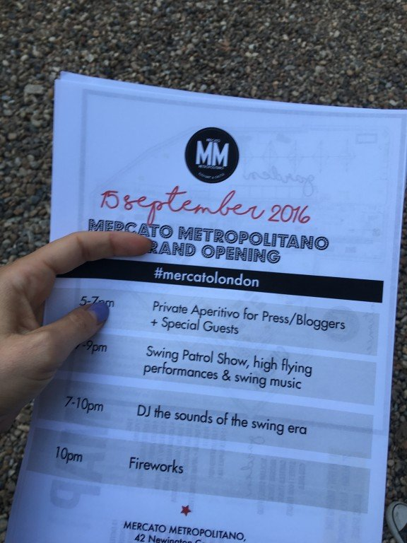 Mercato Metropolitano grand opening